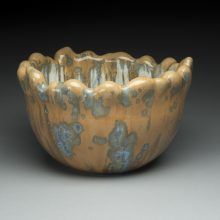 Michelle Aitken Tall Acorn Top Bowl 2017